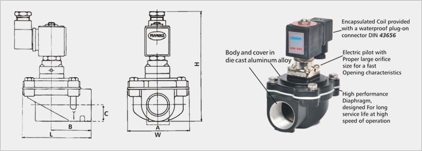 Pulse valvepulse jet valvedust collector valve maniks manikss pulse jet valve ccuart Choice Image